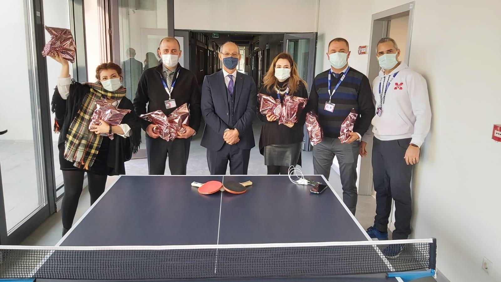 İhsan Çukurlu Masa Tenisi Turnuvası şampiyonları belli oldu