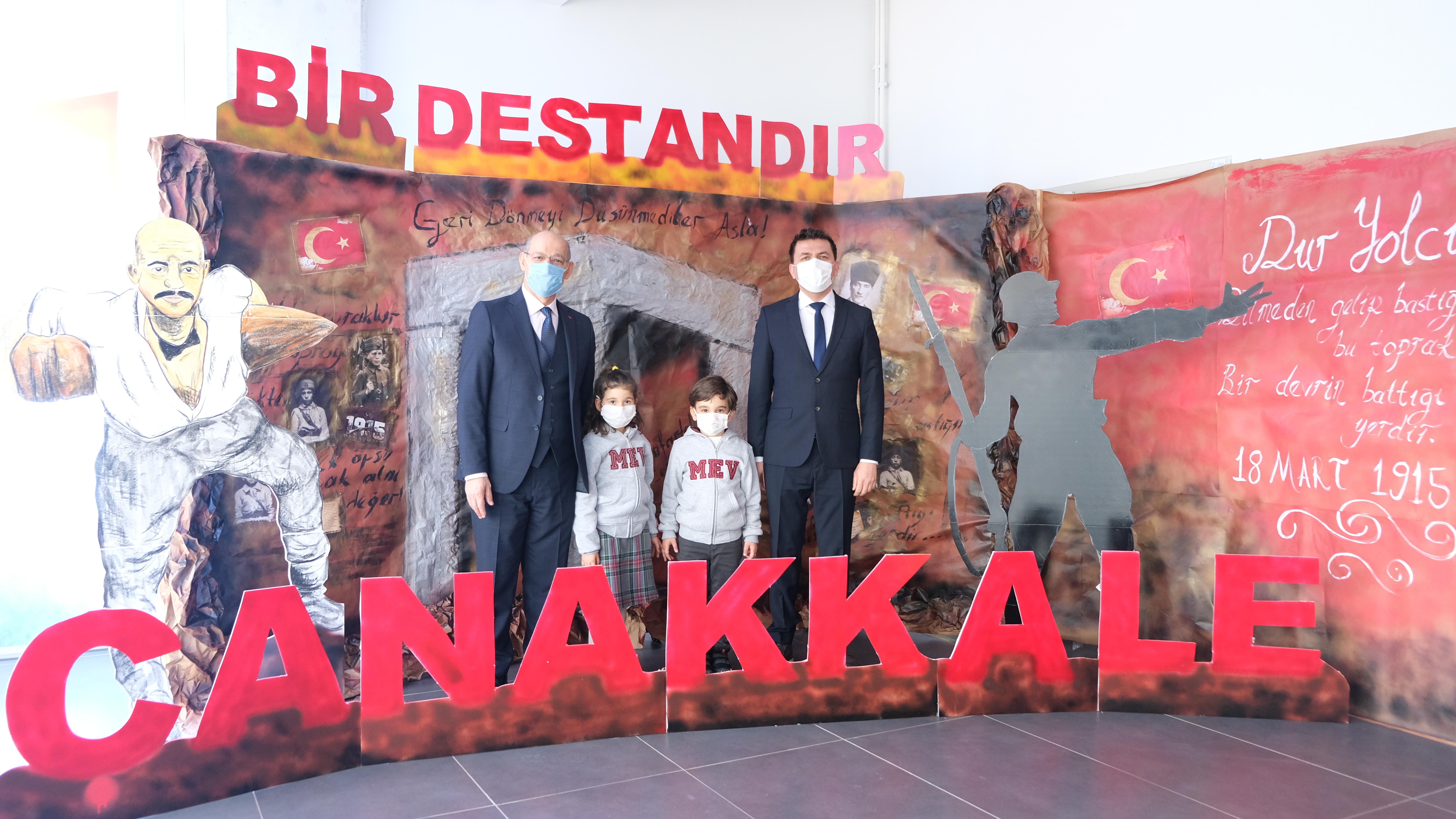 18 Mart Çanakkale Zaferi'nin yıldönümünde şehitlerimizi andık